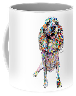 Abstract Cocker Spaniel Coffee Mug