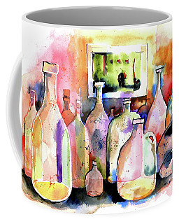 Abstract Containers Coffee Mug by Terry Banderas