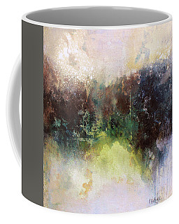Abstract Contemporary Art Coffee Mug by Patricia Lintner