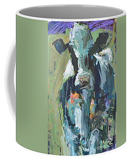 Abstract Cow Painting Coffee Mug