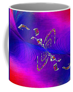 Coffee Mug featuring the digital art Abstract Cubed 350 by Tim Allen