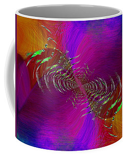 Coffee Mug featuring the digital art Abstract Cubed 352 by Tim Allen