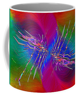 Coffee Mug featuring the digital art Abstract Cubed 353 by Tim Allen