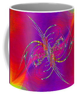 Coffee Mug featuring the digital art Abstract Cubed 365 by Tim Allen