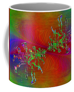 Coffee Mug featuring the digital art Abstract Cubed 371 by Tim Allen