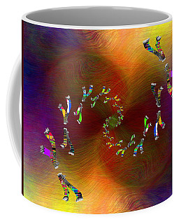 Coffee Mug featuring the digital art Abstract Cubed 375 by Tim Allen
