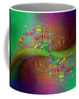Coffee Mug featuring the digital art Abstract Cubed 379 by Tim Allen