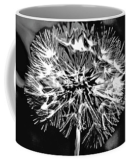 Abstract Dandelion Coffee Mug
