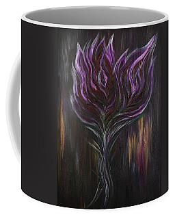 Abstract Dark Rose Coffee Mug