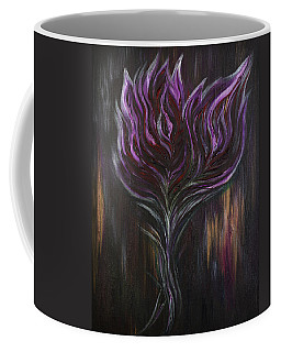 Abstract Dark Rose Coffee Mug