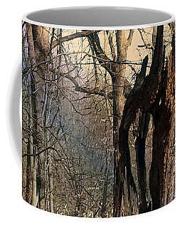 Coffee Mug featuring the photograph Abstract Dead Tree by Robert G Kernodle