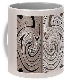 Abstract Desert Raptors Coffee Mug by Will Borden