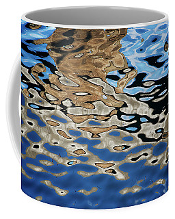 Abstract Dock Reflections I Color Coffee Mug