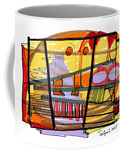Abstract Drawing Sixty-seven Coffee Mug