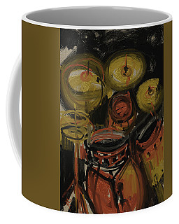 Abstract Drums Coffee Mug