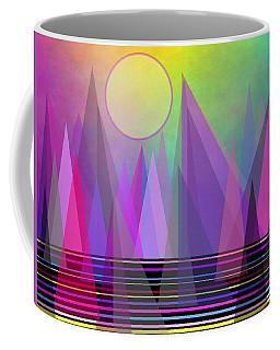 Abstract Elevation Coffee Mug by Kathleen Sartoris