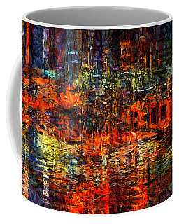 Abstract Evening Coffee Mug