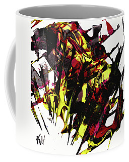 Abstract Expressionism Painting Series 956.022912 Coffee Mug