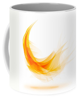 Abstract Feather Coffee Mug