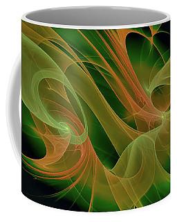 Coffee Mug featuring the digital art Abstract Ffz by Deborah Benoit