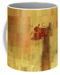 Abstract Floral - 14v2ft Coffee Mug by Variance Collections
