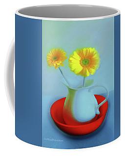 Abstract Floral Art 268 Coffee Mug