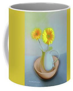 Abstract Floral Art 302 Coffee Mug