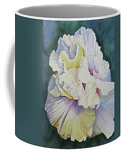 Coffee Mug featuring the painting Abstract Floral by Teresa Beyer