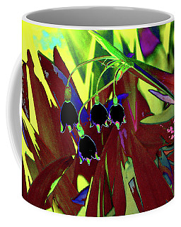 Abstract Flowers Of Light Series #10 Coffee Mug