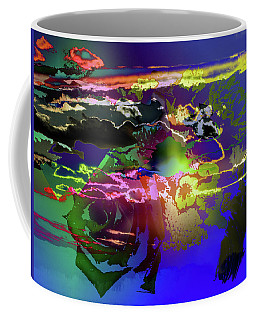 Abstract Flowers Of Light Series #11 Coffee Mug