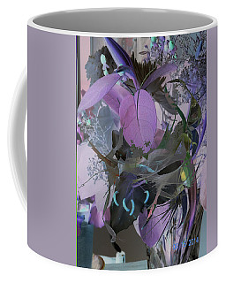 Abstract Flowers Of Light Series #12 Coffee Mug