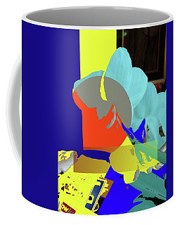 Abstract Flowers Of Light Series #14 Coffee Mug