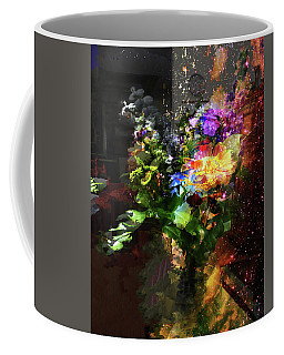 Abstract Flowers Of Light Series #17 Coffee Mug
