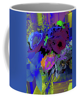 Abstract Flowers Of Light Series #18 Coffee Mug