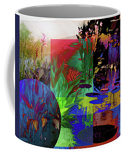 Abstract Flowers Of Light Series #19 Coffee Mug