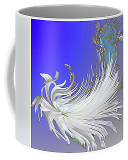 Abstract Flowers Of Light Series #4 Coffee Mug