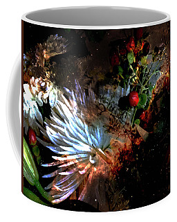 Abstract Flowers Of Light Series #5 Coffee Mug