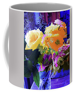 Abstract Flowers Of Light Series #7 Coffee Mug