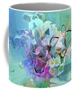 Abstract Flowers Of Light Series #9 Coffee Mug