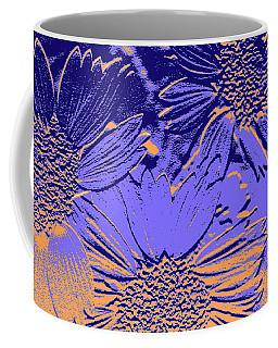 Abstract Flowers 2 Coffee Mug