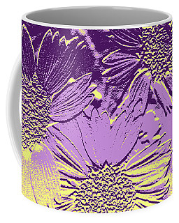 Abstract Flowers 3 Coffee Mug