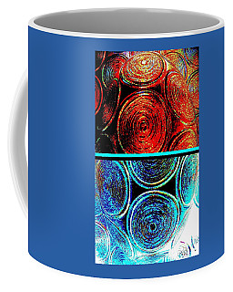 Coffee Mug featuring the digital art Abstract Fusion 275 by Will Borden