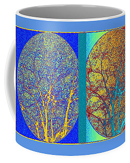 Coffee Mug featuring the digital art Abstract Fusion 276 by Will Borden