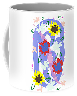 Abstract Garden #1 Coffee Mug