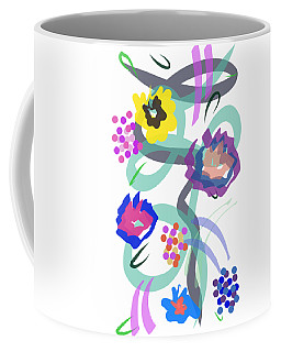 Abstract Garden Nr 4 Coffee Mug