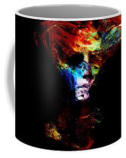 Abstract Ghost Coffee Mug