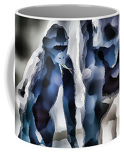Abstract Gorilla Family Coffee Mug