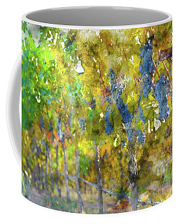 Abstract Grapes On The Vine Coffee Mug