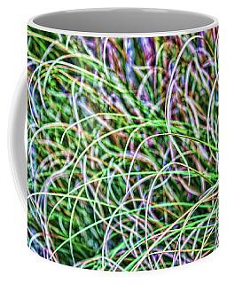 Abstract Grass Coffee Mug