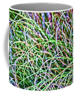 Abstract Grass Coffee Mug